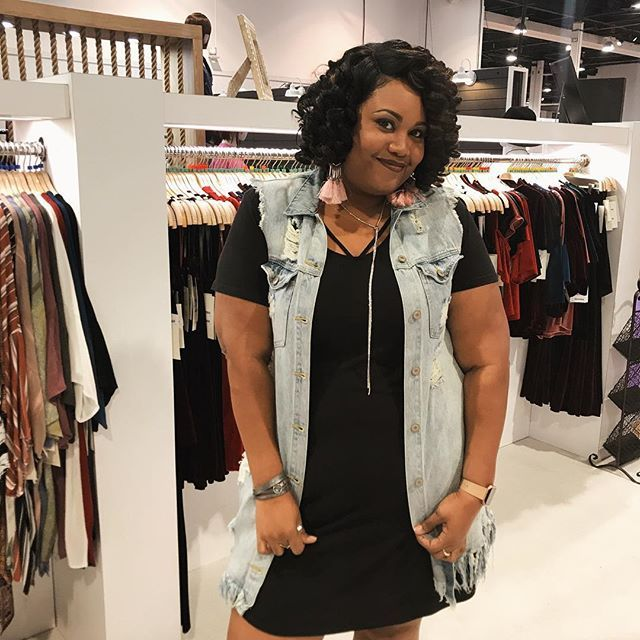 We love it when our beautiful customers rock our denim especially our best-selling denim vest! 😘💙If you missed us at magic we are at #WWINLASVEGAS 😍booth no. T-2600