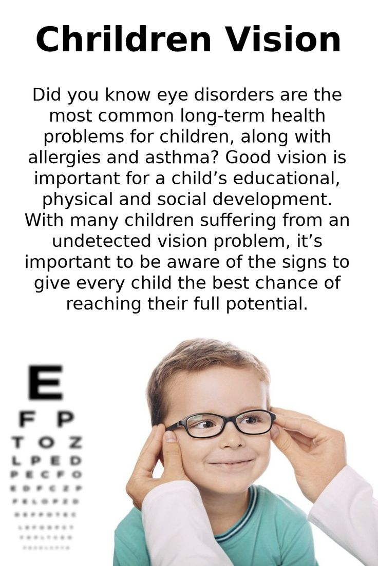 Did you know eye disorders are the most common long-term ...