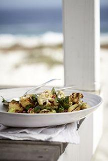 Roasted Cauliflower Salad with Toasted Almonds