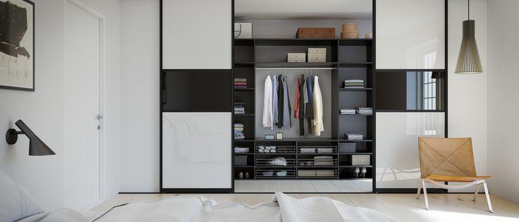 Få et elegant look til din garderobe med De Luxe Combi skydedøre. Hos Kvik har vi garderobeløsninger til ethvert behov – også dit! Klik og se vores udvalg.