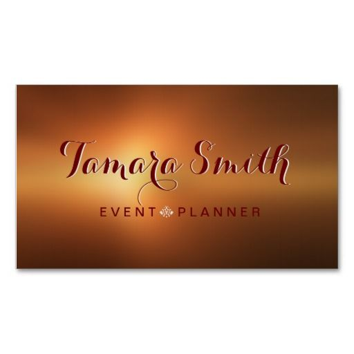 159 best images about Event Planner Business Card Templates on – Event Card Template