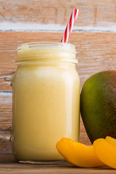 INGREDIENTS BY SAPUTO | Need healthy recipe ideas for busy mornings? Try this vitamin-packed smoothie with peaches, mango, pineapple and cottage cheese. With the goodness of ginger, it's perfect for breakfast on the run!