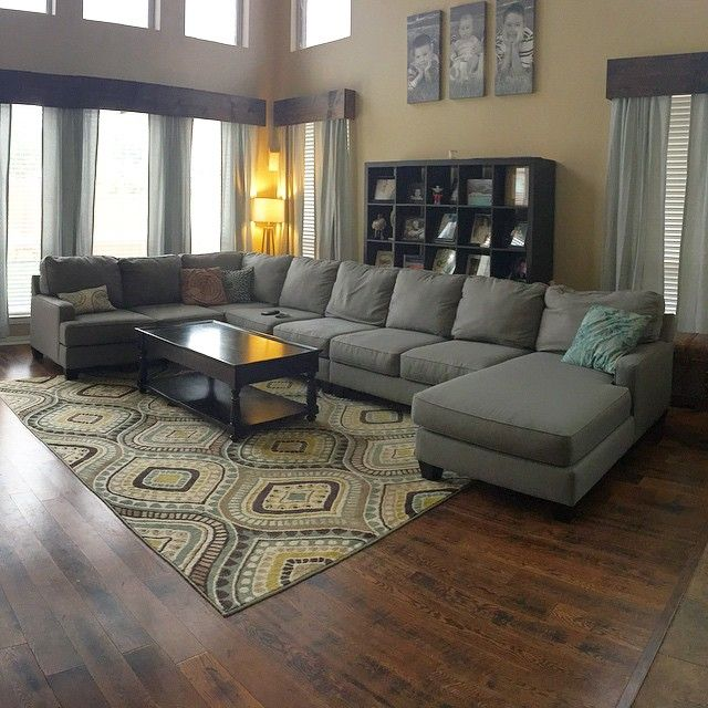 Handmade Wood Valances Stained In Walnut D Living Room Pinterest Handmade Valances And