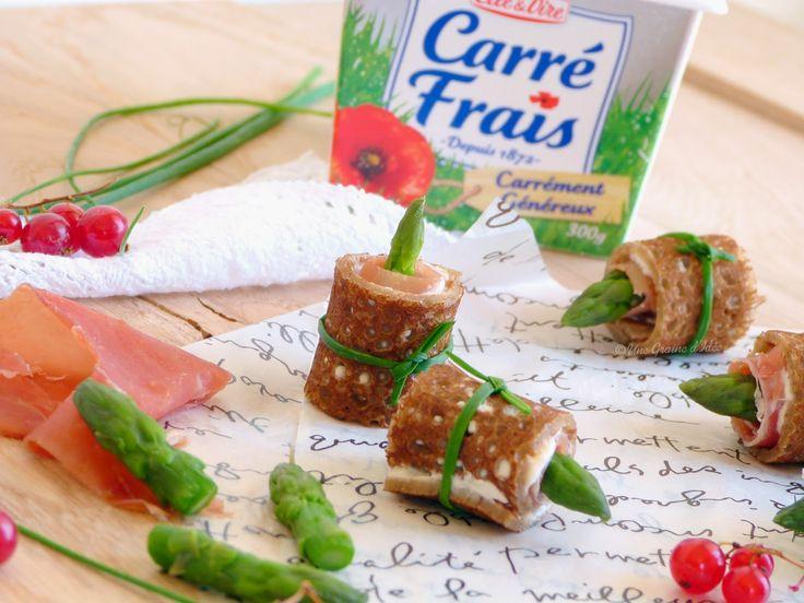 Rolls fraîcheur d'Asperges Vertes & Carré Frais