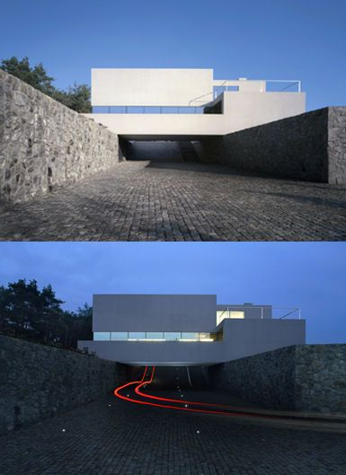 Aatrial #House by KWK Promes.  #architecture in #Poland