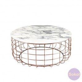 Linder Marble Coffee Table