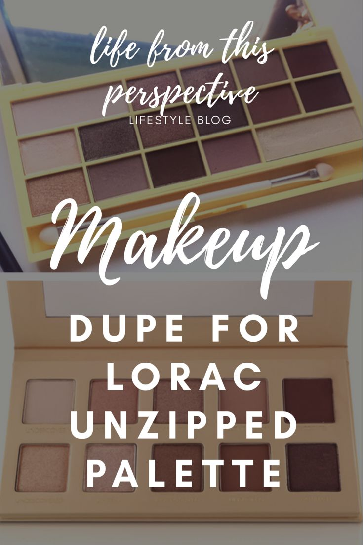 I have have found the best dupe for the Lorca unzipped palette and guess what, it only costs £7.99 ($15)