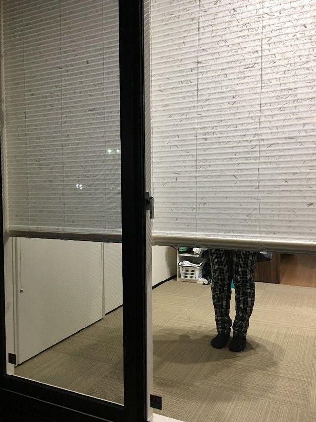 ご近所さんから家の中が丸見え 昼も夜も透けないおしゃれで機能的な窓アイテムを紹介します リビング 目隠し