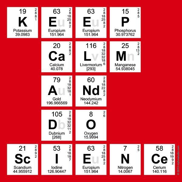 great present idea for a chemistry teacher