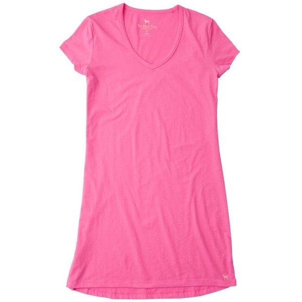 LADIES LOUNGE DRESS (850 RUB) ❤ liked on Polyvore featuring dresses, pink t shirt dress, t-shirt dresses, tee dress, tee shirt dress and scoop neck dress