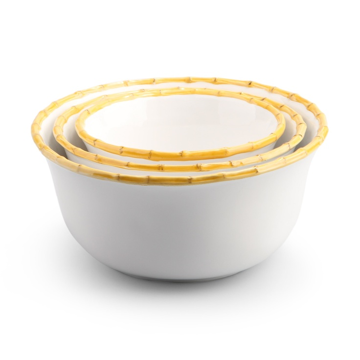 Love This Bamboo Nesting Bowls For 58 On C Wonder Gift