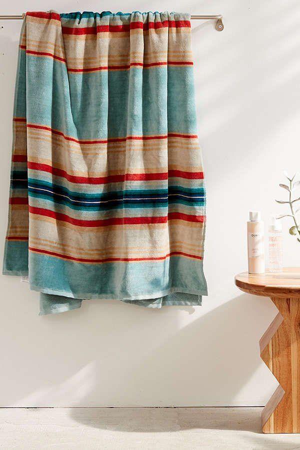 Pendleton Serape Stripe Oversized Beach Towel | Urban Outfitters