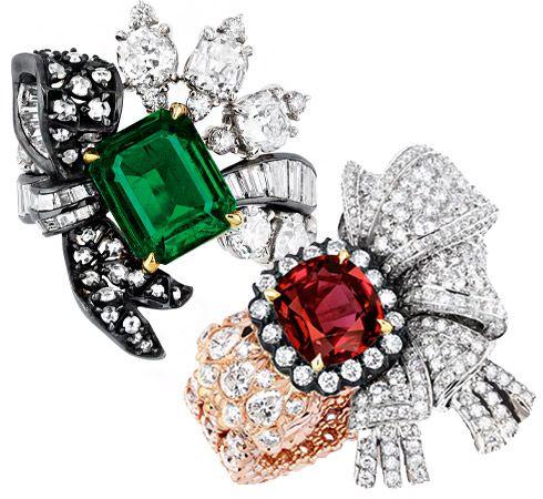 Кольца из коллекции Dior à Versailles