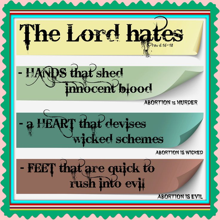 God Hates Abortion  Bible Quotes To Show This Prov 616. Best Long Term Care Companies. Credit Agency Reporting Hesperia Hotel London. Health And Technology News Us Attorney Texas. Atlassian Confluence Alternative. Free Domain Web Hosting Florida Spine Surgery. Mid Manhattan Lpn Program After School Tutors. How To Donate Timeshare Cleaning Tile Showers. How To Become Web Developer Hair Re Growth