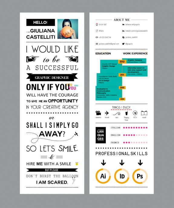 25  best ideas about exemple de cv original on pinterest