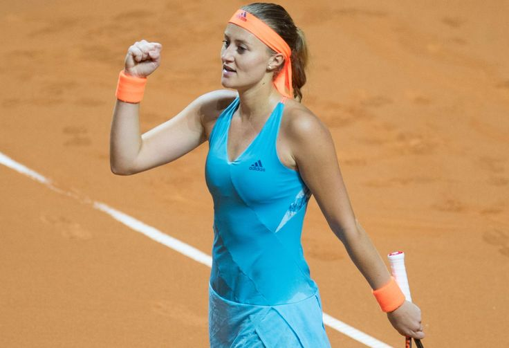 4/28/17 Kiki Mladenovic's upset over Defending Champion Angie Kerber in Stuttgart keeps expectant mother Serena Williams atop the WTA rankings for another 2 wks of her pregnancy. Wow.