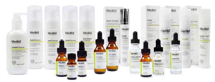 Medik8 is the world's only green cosmeceutical and contains active high potency natural ingredients that have been bio-engineered for stability and absorption, ensuring scientifically proven results.  This dynamic range that includes anti-ageing and acne products is ideally suited to sensitive and problem skin. Flawless is the exclusive provider of the professional Medik8 product range in Hong Kong.
