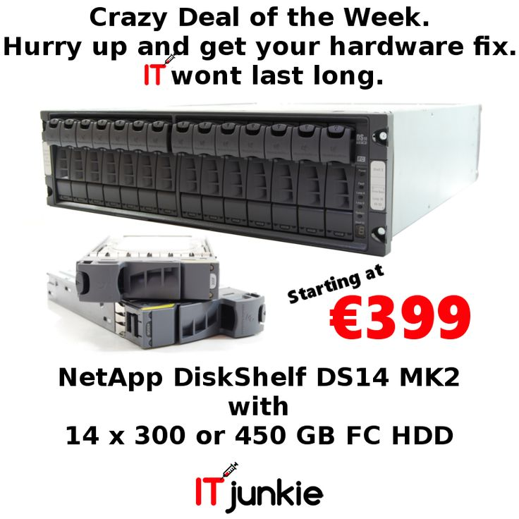 Great Deals - Deal Of The Week. NetApp DiskShelf