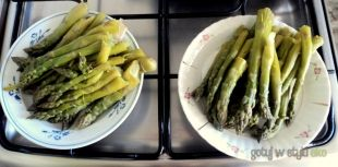 Szparagi z pary :)