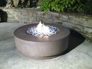 Accessorize Your Patio with a Concrete Fire Pit Design | Custom ...