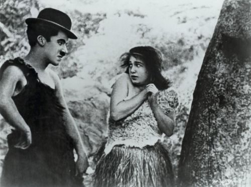 Charlie and Gene Marsh in His Prehistoric Past c.1914
