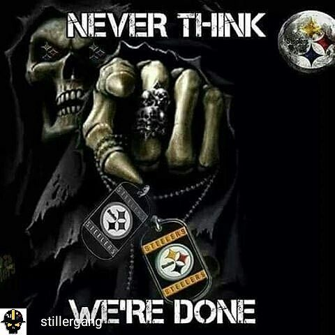 @Regrann_App from @stillergang -  @Regrann_App from @balyztyk20s -  #blackandgold #bangbang #stillergang #pittsburgh #steelers #steelergang #nfl #longbeach #california #europe #steelcitymafia #terribletowel #football #season #balyztyk20s #dovegang #santamuerte #santeria #holydeath #santisima #muerte #dayofthedead #czech #texas #latina #voodoo #steelersnation #steelergirl  NEVER!!!