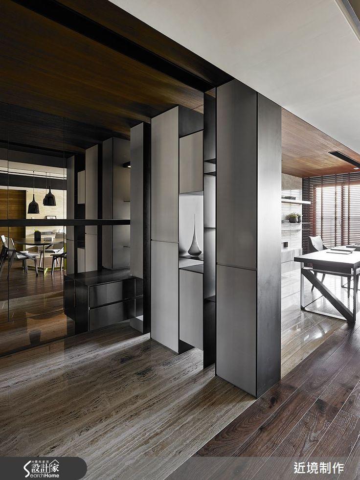 現代風的裝潢圖片為近境制作的設計作品,該設計案例是一間無總坪數為30,格局為兩房,更多近境制作設計案例作品都在設計家 Searchome