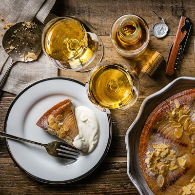 Pair your favorite dessert with a sweet wine to get the most out of both.