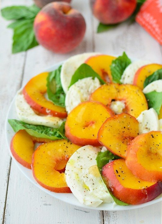 Ripe for the Picking: Peach Caprese Salad Recipe