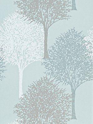 Harlequin Entice Wallpaper, Duck Egg, 110097