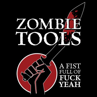 Fist Full of Fuck YeahZombies Apocalypse, Zombies Thewalkingdead, Fuck Yeah, Hells Yeah, Fist Full, Zombies Tools, Zombieswalkersth Undead, Things Zombies, Zombies Stuff