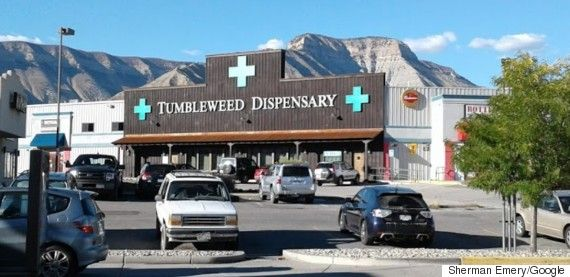 Tumbleweed Express A Drive-Through Weed Store Is Coming To Parachute Colo.
