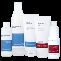 ZENMED® Complete Oily Skin Kit:   Complete day and night system for countering redness, flushing, flaky skin, and visible blood vessels. Achieve happy, nourished, healthy skin. $138.80