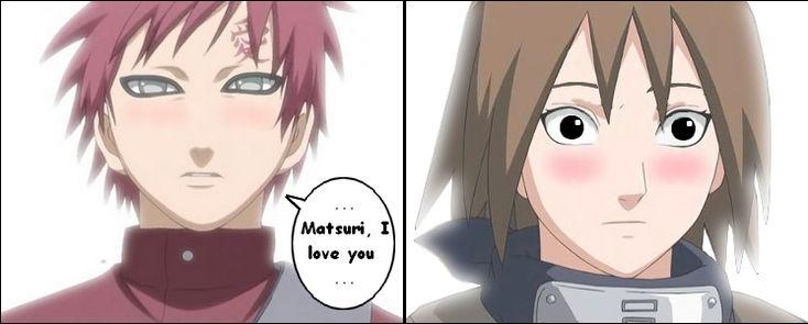 Gaara x Matsuri - YouTube |Naruto Matsuri And Gaara