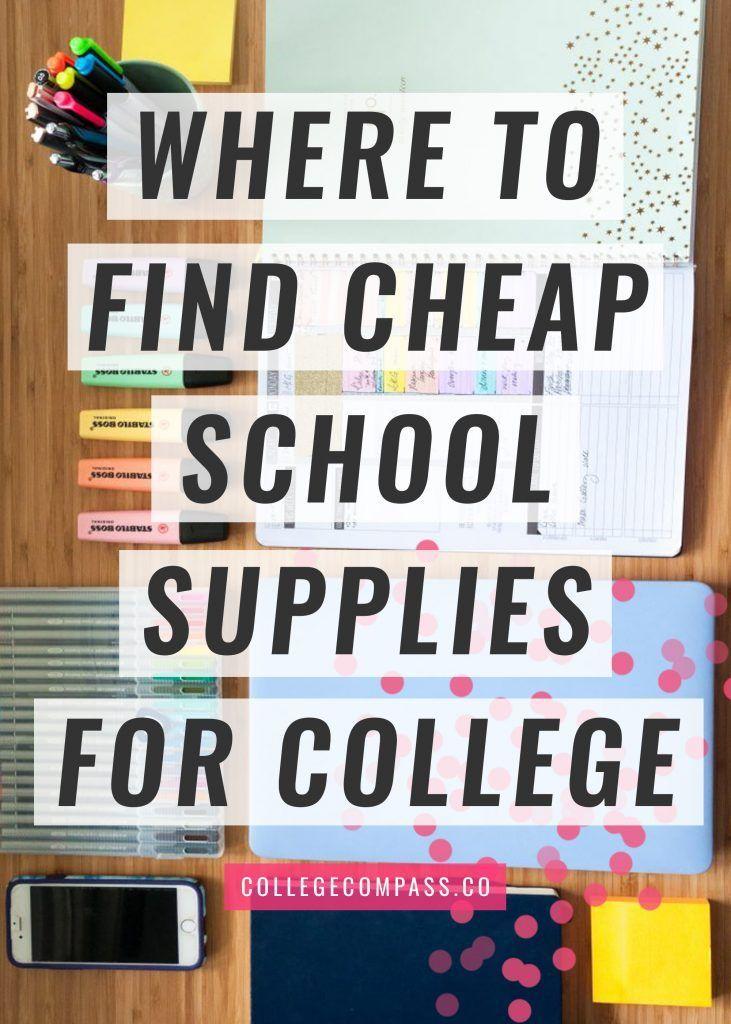Where to Get Cheap School Supplies