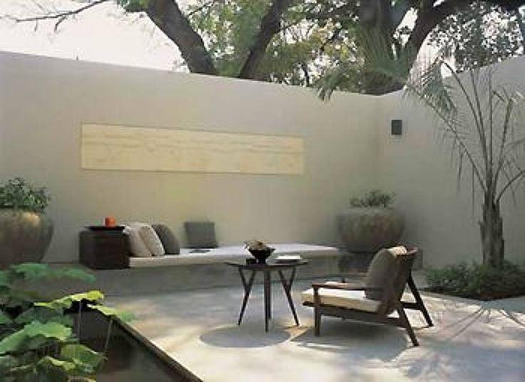 Las 25 mejores ideas sobre jardines de patio trasero for Jardines pequenos esquineros