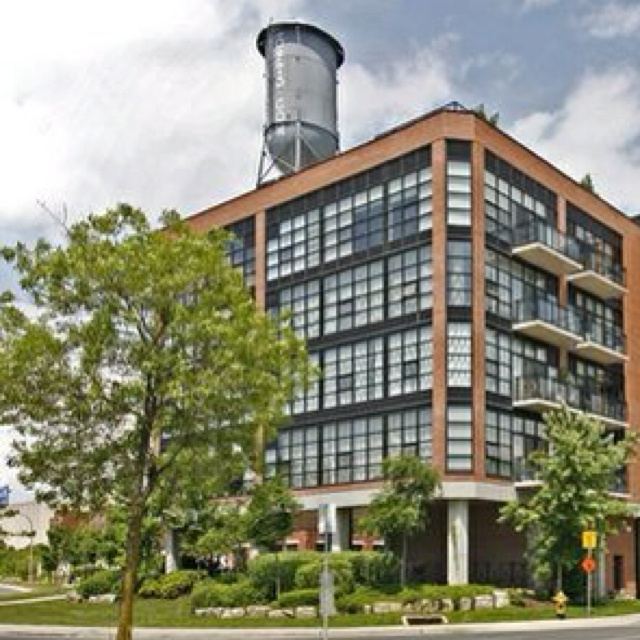 68 Broadview lofts in Leslieville in old Rexall Pharmacy Building.  A gorgeous loft conversion.  #homesinleslieville #jimsellstoronto.