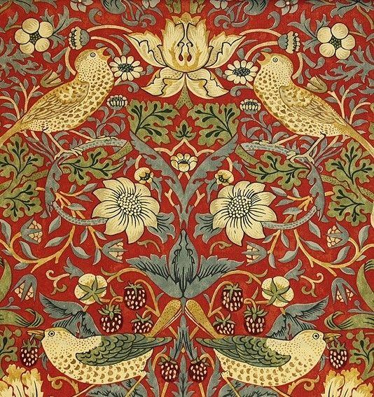 William Morris. GOTHIC Art that has influenced 20th/21st century art, architecture, literature etc.
