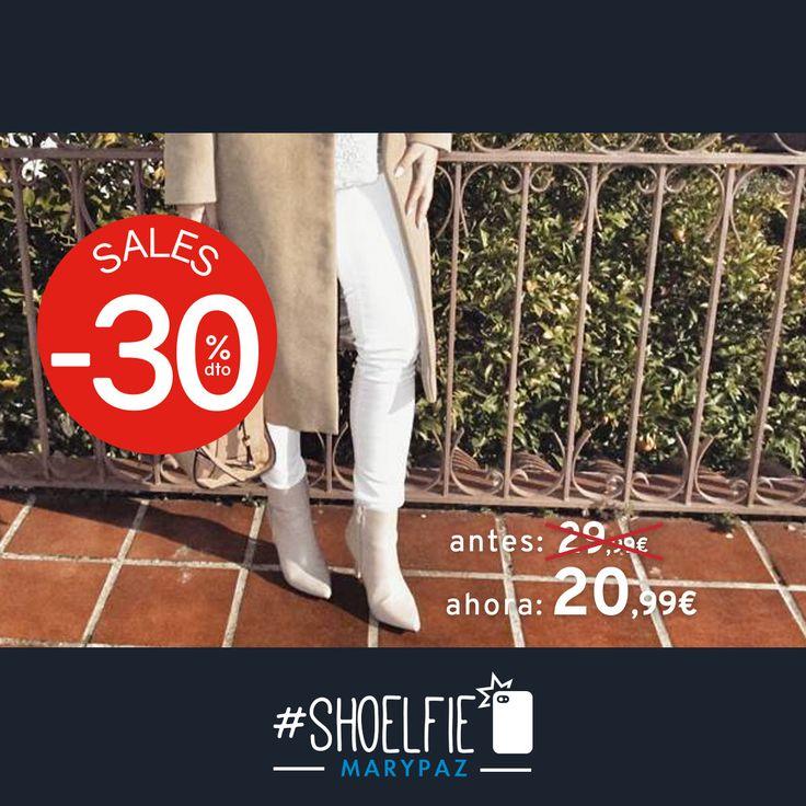 HASTA 50% DTO.¡¡REBAJAS MARYPAZ!! En tiendas físicas y online  Os deseas un buen día con el #Shoelfie by @beautyinsimplicity80  Hazte con este BOTÍN PUNTA aquí ►http://www.marypaz.com/botin-punta-0136816i203-75008.html  #SoyYoSoyMARYPAZ #Follow #winter #love #fashion #colour #tendencias #marypaz #locaporlamoda #BFF #igers #moda #zapatos #trendy #look #itgirl #invierno #AW16 #igersoftheday #girl  **Promoción válida desde el 07 de enero.