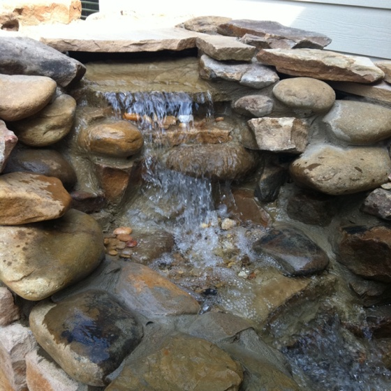 Simple Water Feature Fountain