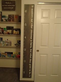 Harry Potter themed measuring stick