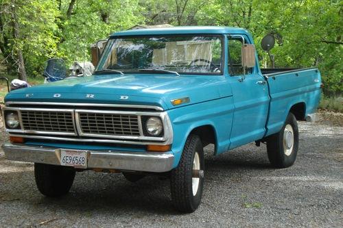 F100 Old School Ford 4x4 High Boy Ford Truck Pinterest