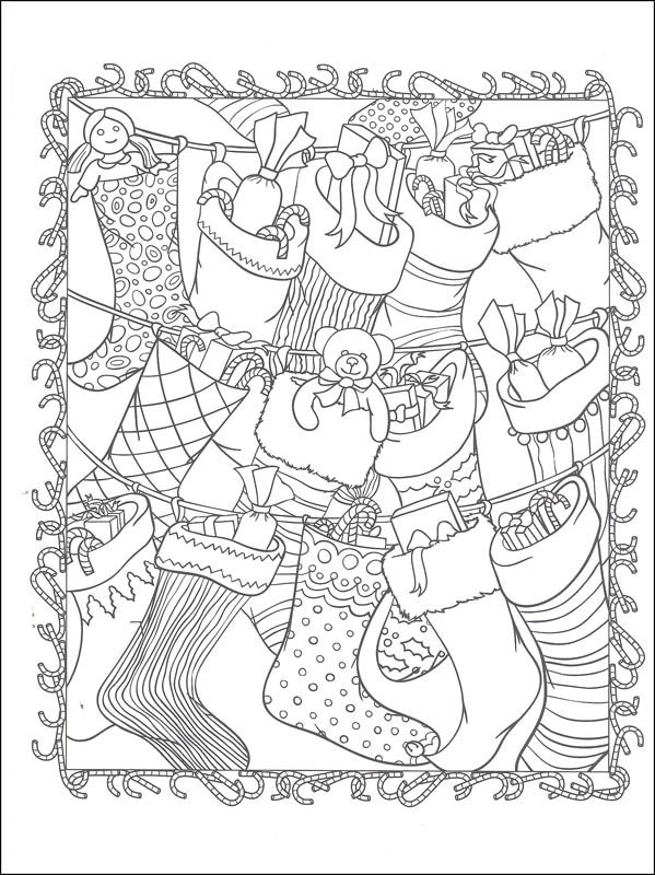 ChristmasScapes Coloring Book (Creative Haven) | Additional Photo (Inside Page)