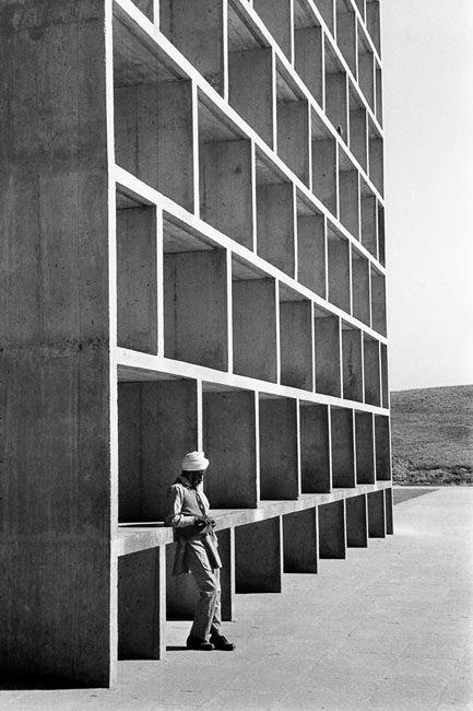 High Court, bâtiment conçu par Le Corbusier, Chandigarh, 1956