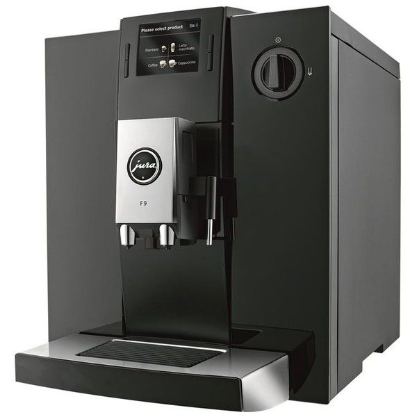 Jura F9 Coffee Machine (105,710 INR) ❤ liked on Polyvore featuring home, kitchen & dining, small appliances, jura, jura coffee machine and jura coffee maker