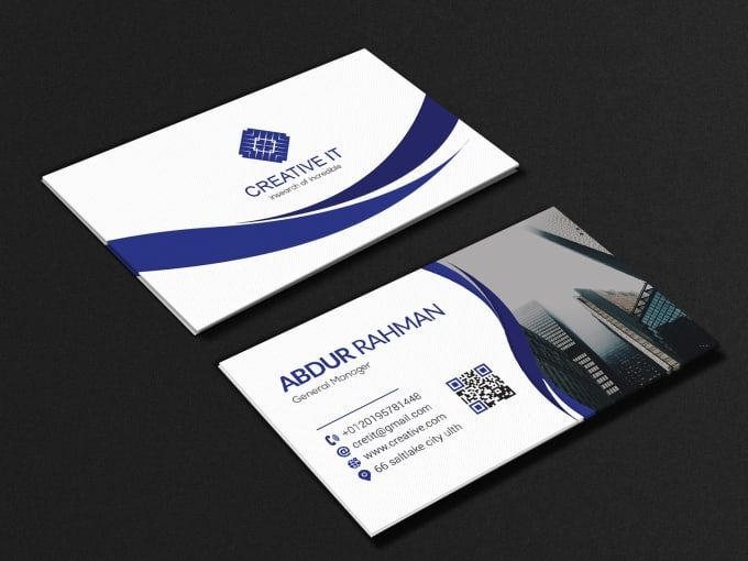 Rasheduzzaman57 I Will Redesign Or Convert Any File In Canva For 20 On Fiverr Com Order Business Cards Business Card Design Business Cards