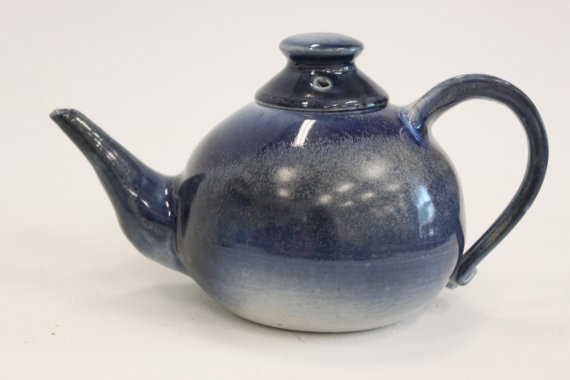 Unititled Tea Pot 1 by Hummingbirdcrafter on Etsy, $65.00 SOLD