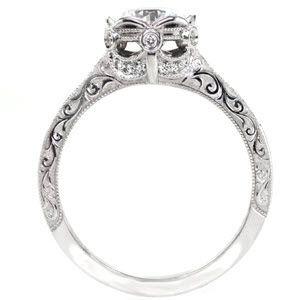 Petra - Knox Jewelers - Minneapolis Minnesota - Filigree Engagement Rings - Large Image