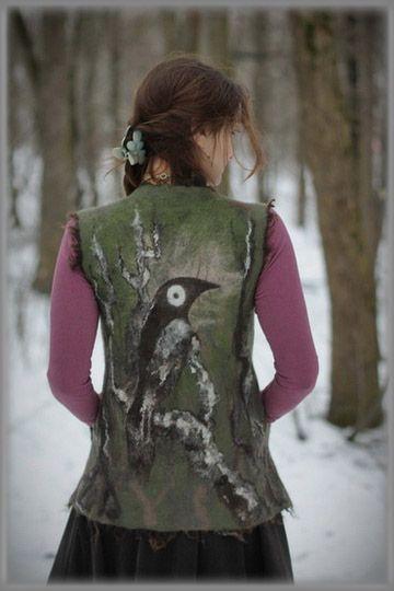 Crow's Nest - Lamb Fleece Paintings