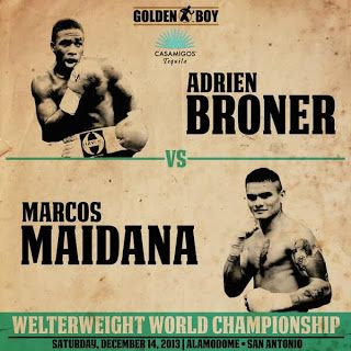 """BRONER vs. MAIDANA MAIN EVENT DRAWS 1.3 MILLION VIEWERS, THE THIRD-LARGEST AUDIENCE FOR LIVE BOXING ON SHOWTIME® Average Audience Across the Four-Fight Telecast Ranks as the Fourth-Largest in a Decade """"DANGER ZONE"""" REPLAYS TONIGHT AT 10p ET/PT on SHOWTIME EXTREME®★Starlite★ Boxing's Sweetscience©®™"""